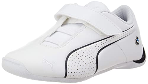 d5f6fc60385 Puma Unisex s BMW MMS Future Cat Ultra White-Anthracite Sneakers-1 UK India