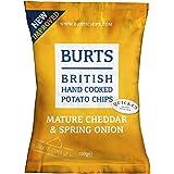BURTS Mature Potato Chips, Cheddar and Spring Onion, 150g