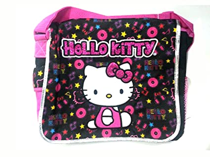 Fieltro negro Hello Kitty bandolera - Hello Kitty bolsa de ordenador portátil