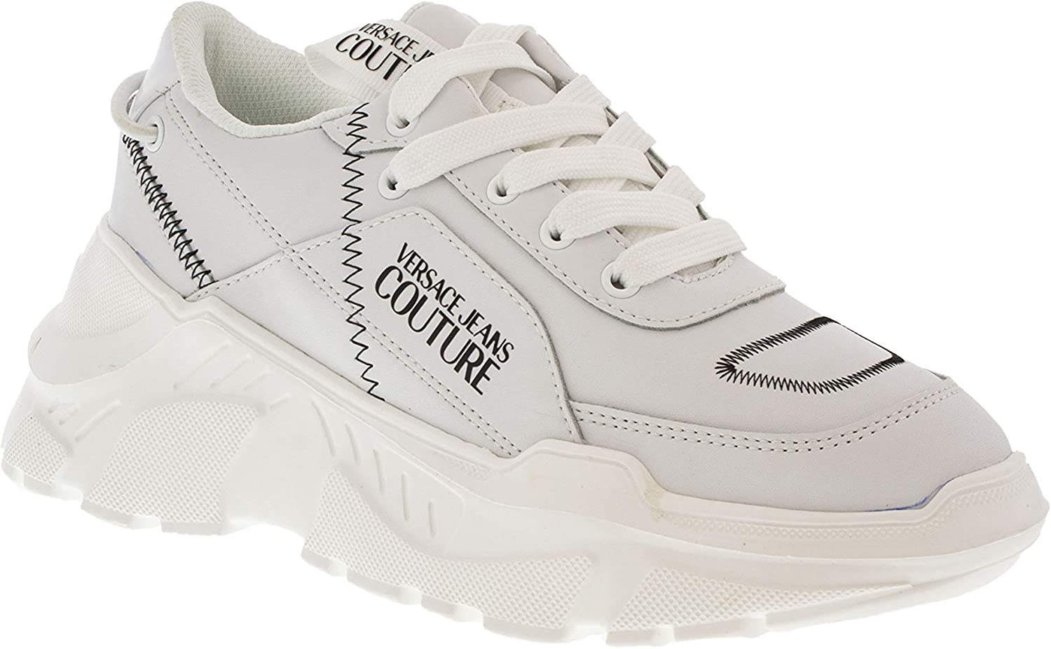 : Versace Jeans Couture White Speed Fashion Chunky