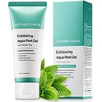 MOTHER MADE Exfoliating Natural Aqua Facial Peel Gel with Green Tea, Vitamin C, Willow Bark Extract, 3.38 fl. oz, Gentle…