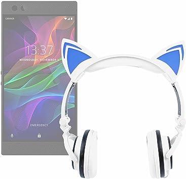 DURAGADGET Auriculares Plegables estéreo con diseño de Orejas de ...