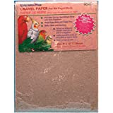 Penn Plax Sand Sheet Gravel Paper for Bird Cage, 7 Count