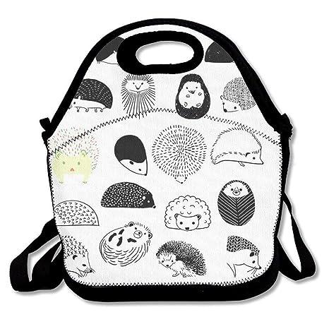 Dozili Hedgehog - Bolsas de almuerzo de neopreno grandes y ...
