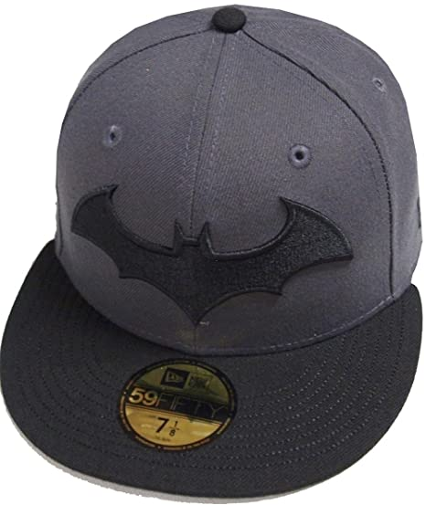 best website 6502b d8403 New Era Batman Dark Graphite Marvel DC Cap 59fifty 5950 Fitted Basecap  Kappe Men Special Limited Edition  Amazon.co.uk  Clothing