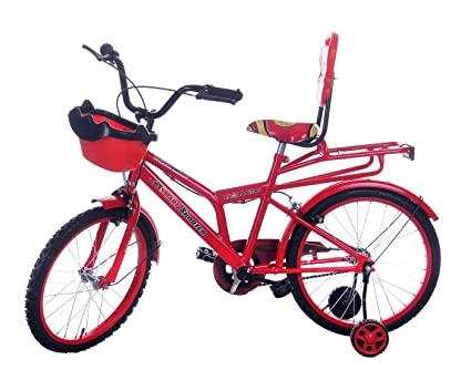 Buy Leader Steel Kid\'s Bicycle, 9 Inches (Red, JFI SMART SHOOTER 20T ...