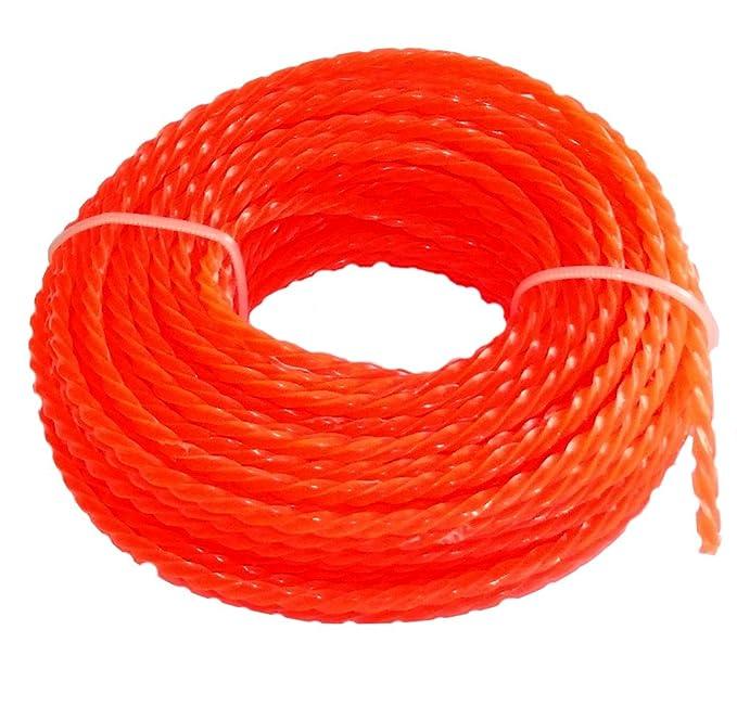 AERZETIX: Hilo de nylon perfil retorcido twist 3mm 15m para ...