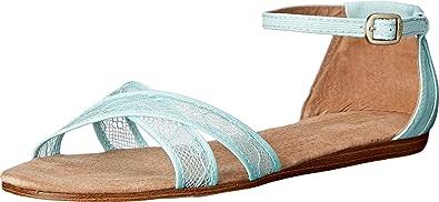 TOMS Women's Wedding Sandal Light Blue
