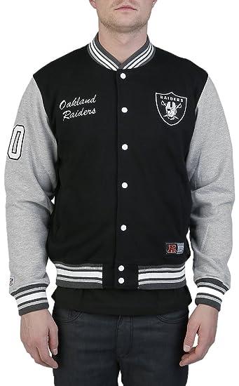 lässige Schuhe 60% Freigabe gute Qualität Majestic Burnside Fleece Letterman Oakland Raiders College ...