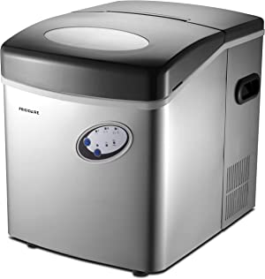 Frigidaire EFIC115 Extra Large Ice Maker, Stainless Steel, 48 lbs per day