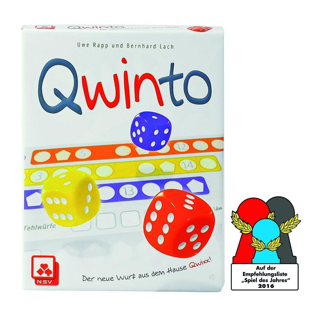 NSV - 4036 - QWINTO - Würfelspiel: Amazon.de: Spielzeug