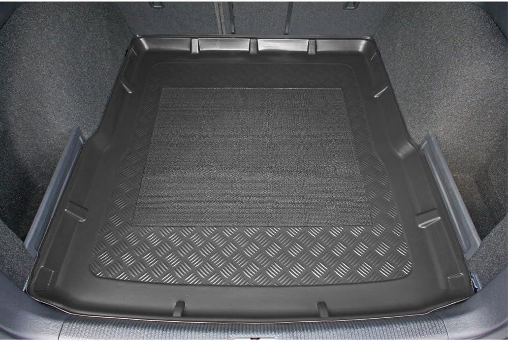ZentimeX Z926190 Sitzbez/üge Vordersitze R/ückbank Stoff blau schwarz