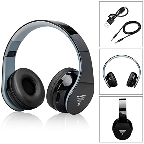 Headphone Bluetooth over-ear con 3.5mm Cavo Audio 636c2fdc6bb1