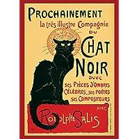 1art1 Empire 210944 Steinlen - Poster Tournee du Chat Noir di Theophile, 61 x 91.5 cm