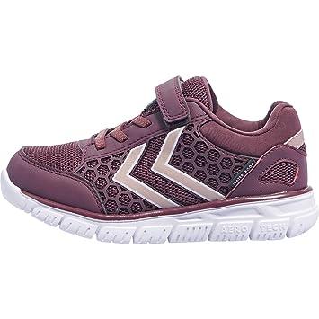 buy online 8ceea e4063 Hummel Crosslite Waterproof JR Sneaker Schuhe Kinder lila ...