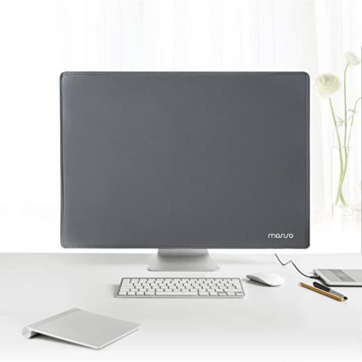 21 Inch Anti-Static Polyester LCD//LED//HD Panel Case Screen Dispaly Protective Sleeve Compatible 19-21 Inch iMac 20.5 20 19.5 Desktop Computer and TV Black MOSISO Monitor Dust Cover 19 PC