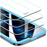 ESR Tempered-Glass Screen Protector for iPhone 12/12 Pro [3-Pack] [Easy Installation Frame] [Case-Friendly]