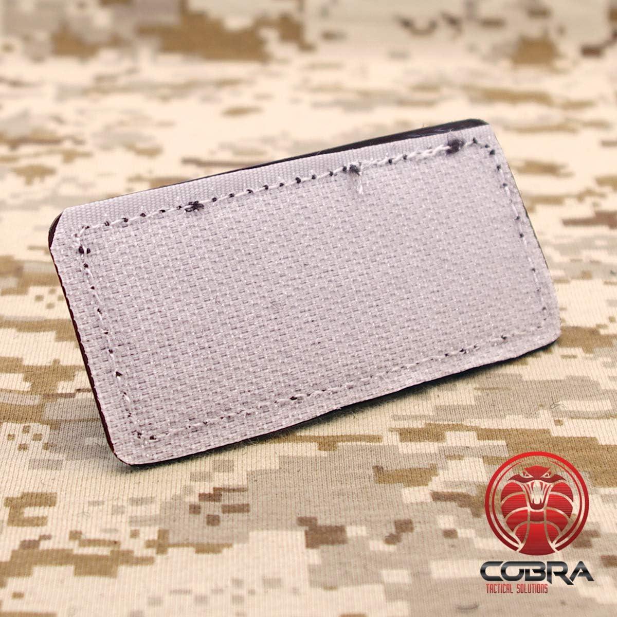 Cobra Tactical Solutions Paintball PVC Patch Mama Says Im Special blanco con Cierre de Velcro para Airsoft Ropa t/áctica y Mochila