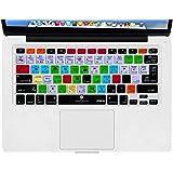 XSKN Adobe Lightroom Shortcuts Keyboard Skin Hot Keys LR Keyboard Cover for Macbook Air 13 & Macbook Pro 13 15 17, Retina (US / European ISO Keyboard)