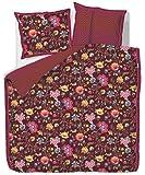 Pip - Ropa de cama (percal), algodón, rojo, 135 x 200 cm