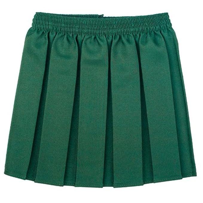 4bcd468e0 Ou Niñas Uniforme Escolar Caja Plisado elástico Falda Schoolwear tamaño 2 –  17yrs