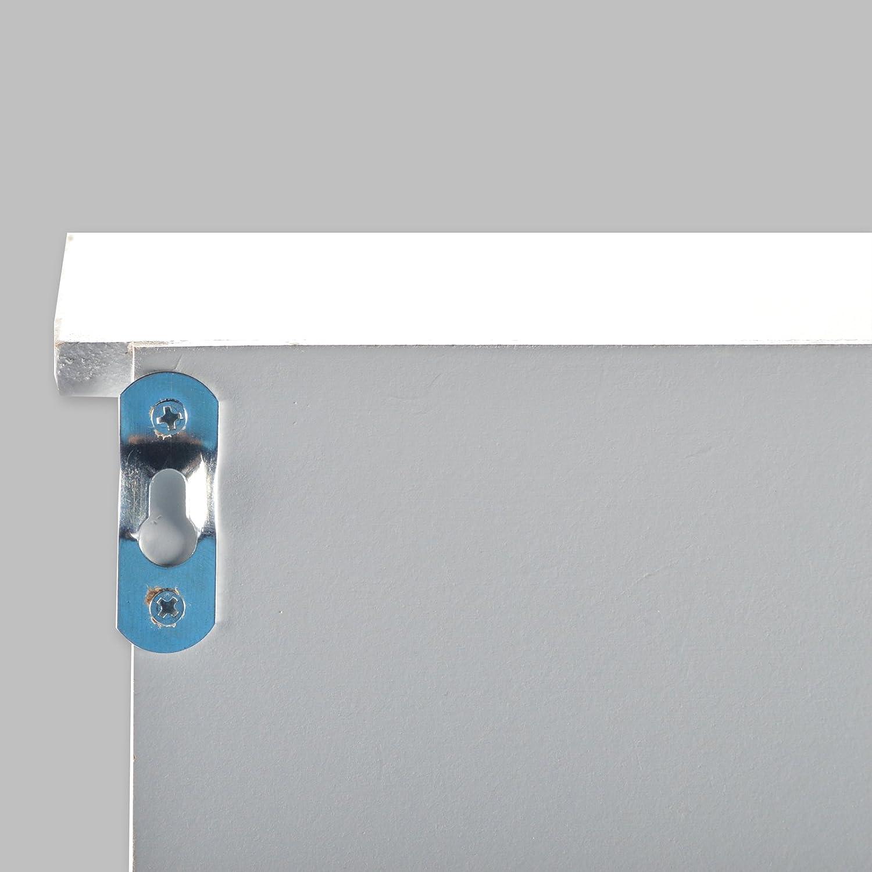 DRULINE Küchenschrank Wandschrank Hängeschrank 4 Haken 4 Schubladen ...