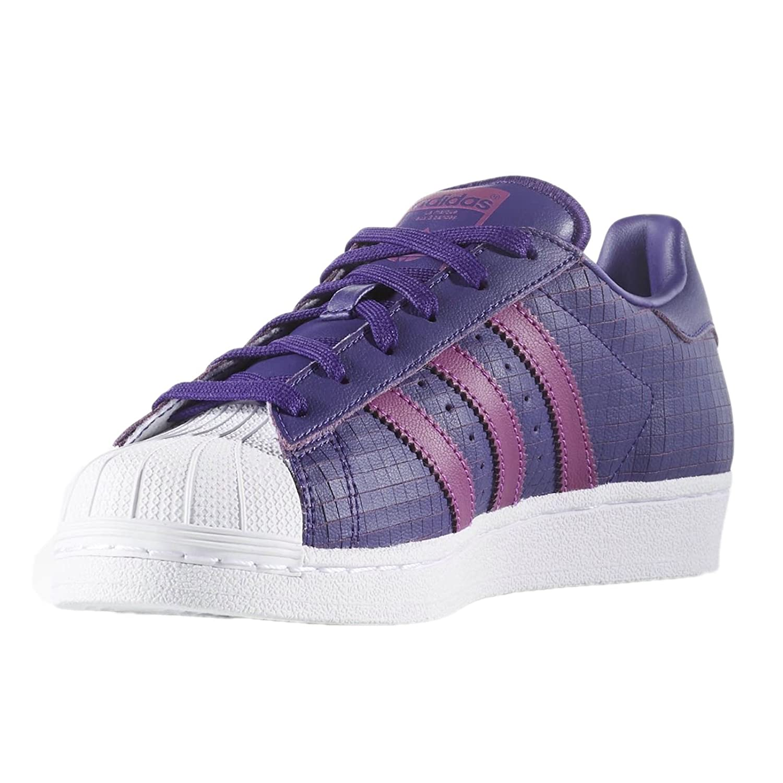 adidas C77154 - Botines de Cuero para Chico, Color Morado, Talla 38 Medium EU: Amazon.es: Zapatos y complementos