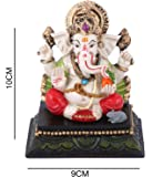 Affaires: Beautiful Lord Ganesha, Ganesh, Ganpati Murti Idol Statue Sculpture for car /office Decor, Ideal Gift to Your Loved Ones G-426