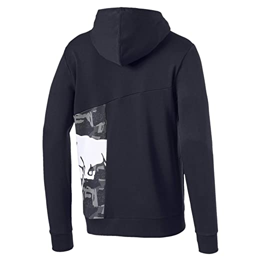 Puma Sweatshirts and Hoodies Red Bull Racing Double Bull Male Night Sky L: Amazon.es: Deportes y aire libre