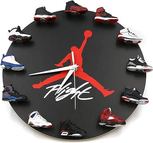 QCK Sneakers Wall Clock,12 inch Wall Clock,Air Jordan Wall Clock