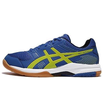 4dfc3d12c22f2 ASICS Gel Rocket 8 - Mens Indoor Court Shoes - Imperial/Sulphur ...