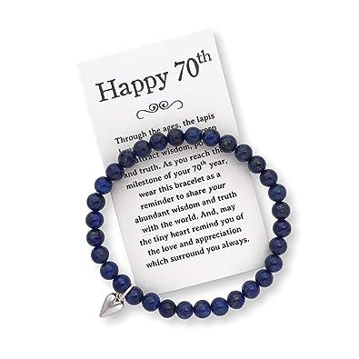 Birthday Jewelry 70th cumpleaños Regalo para Mujer - 70th ...
