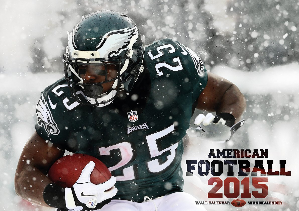 American Football 2015 Calendar (English, German and French Edition) by ML Publishing