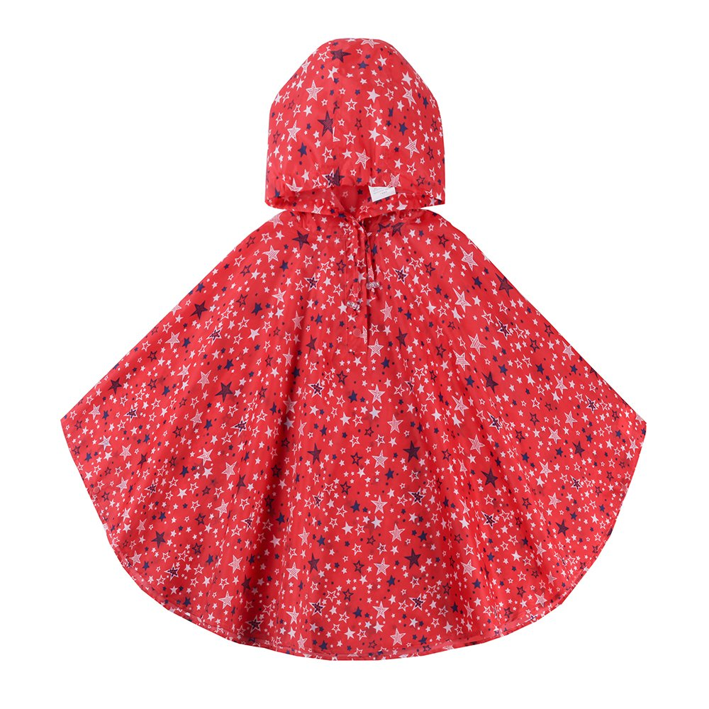 Spring Fever Girl Cute Raincoats Poncho Backpack Lightweight Toddler Rain Jacket SUBDEJA0277SN