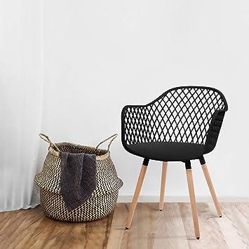 Mc Haus DIAMOND- Pack 2 Sillas Comedor modernas silla Nórdica ...