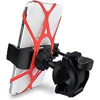 Handyhalterung für Fahrrad, Ipow Universal Fahrrad Halterung mit 3 Fächer Sicherheitschutz für GPS & Smartphone wie iPhone X/8/8 Plus/7/7 Plus/6S/ 6S plus 5S, Samsung Galaxy S3 S4 S5 S6 S7 Note 3/4/5,Nexus,HTC usw