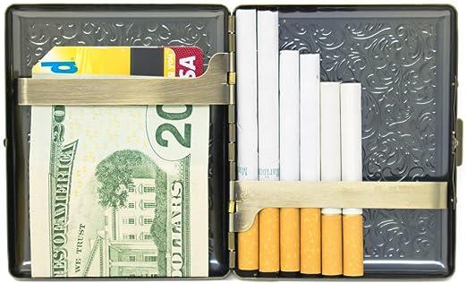 Amazon.com: Estuche de almacenamiento para cigarrillos de ...