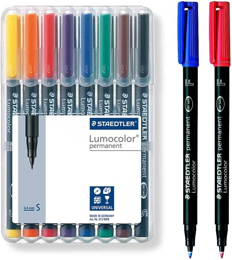 Staedtler Lumocolor Universal Permanent Fine Tip Pens   Approx ...