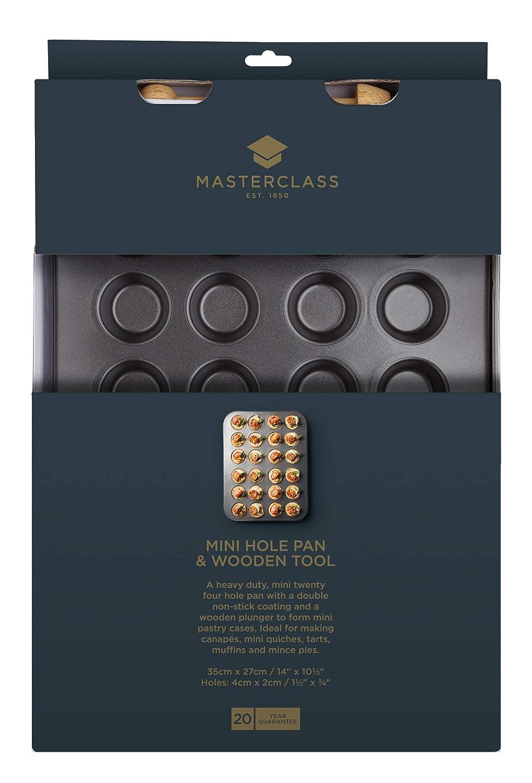 Kitchen Craft Master Class - Molde para tartaletas pequeñas con utensilio: Amazon.es: Hogar