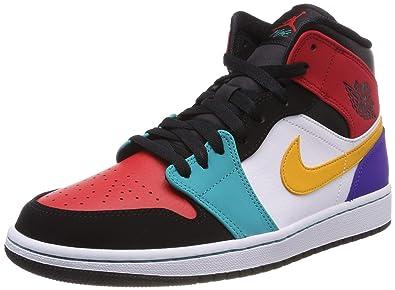 Jordan Men's 1 Mid Fitness Shoes: Amazon.co.uk: Shoes & Bags