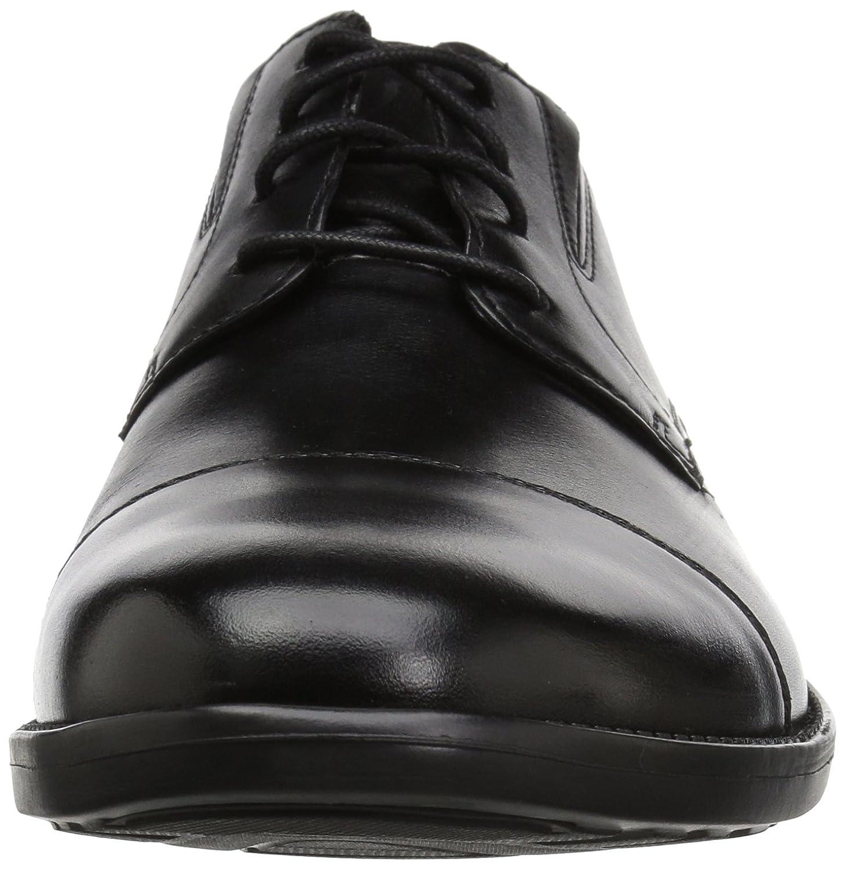 cheap for discount 79355 acbcf ... Bostonian Men s Birkett Cap Shoes 10 M M M US Black Leather B078KG2CD3  e59ec8 ...