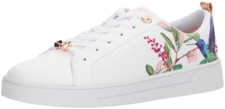 Ted Baker Women's Ahfira Sneaker, Highgrove Hummingbird, 8 B(M) US