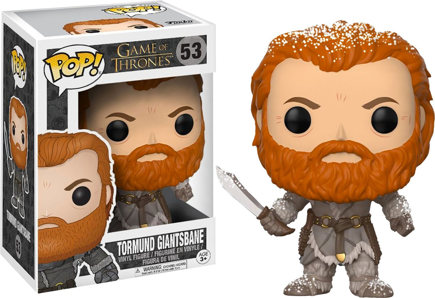 POP Funko Game of Thrones Tormund Giantsbane Snowy Variant Vinyl Figure 53