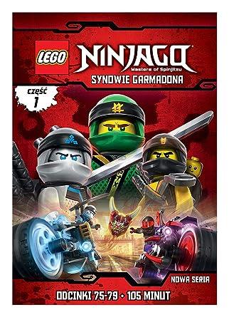 LEGO Ninjago: Synowie Garmadona CzÄĹÄ 1 odcinki 75-79 DVD No ...
