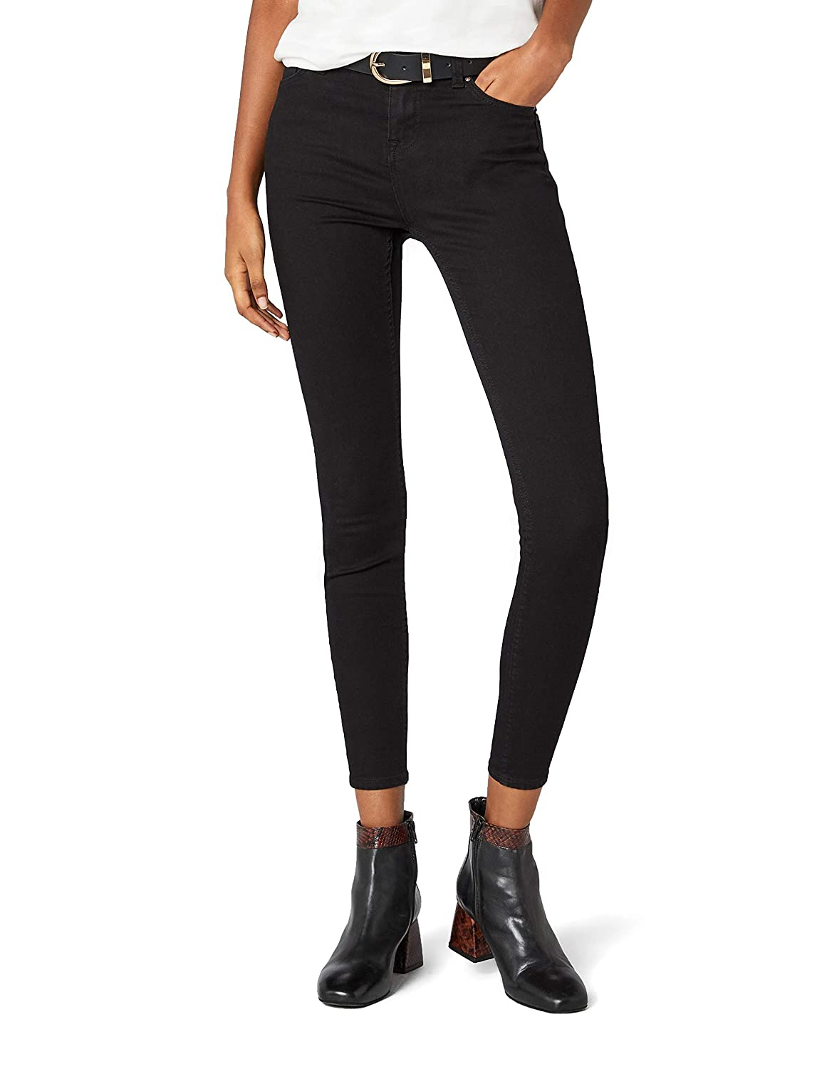TALLA 26W / 32L. New Look Supersoft Superskinny Vaquero Skinny para Mujer