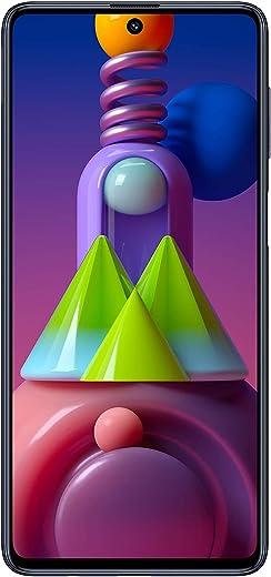 هاتف سامسونج جالكسي ام 51 بشريحتين اتصال، رام 8 جيجا، سعة تخزين 128 جيجا - الجيل الرابع ال تي اي