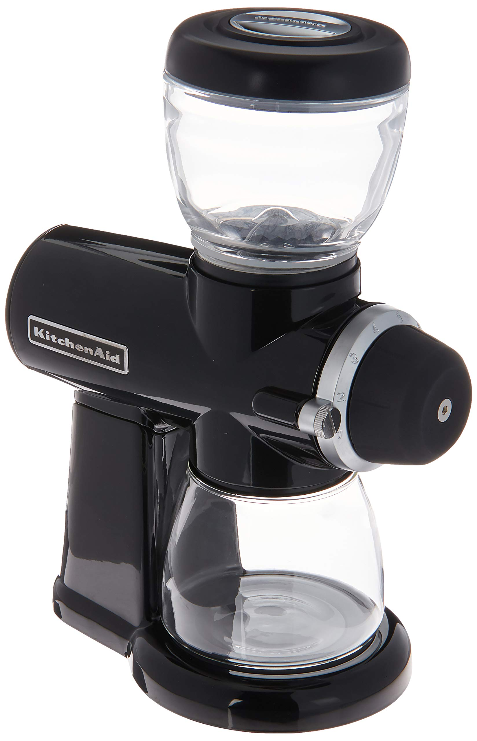 KitchenAid KCG0702OB Burr Coffee Grinder, Onyx Black by KitchenAid