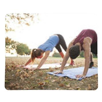 alfombrilla de ratón entrenador de Yoga de la mujer que ...