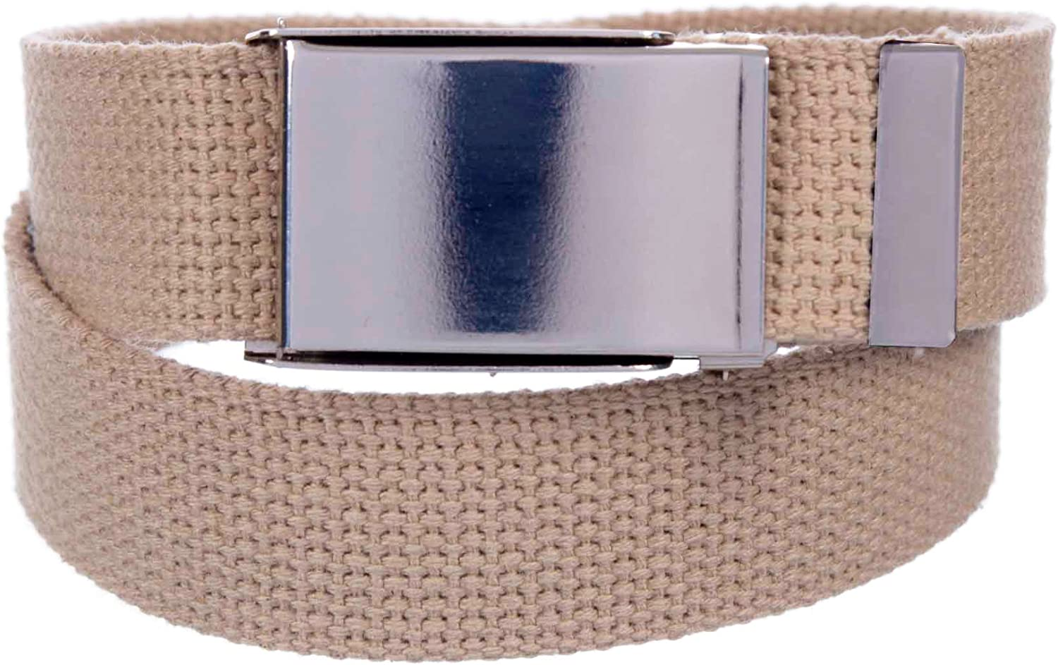 Sunny Belt Mens 1 /¼ Inch Wide Cut To Fit Canvas Web Belt