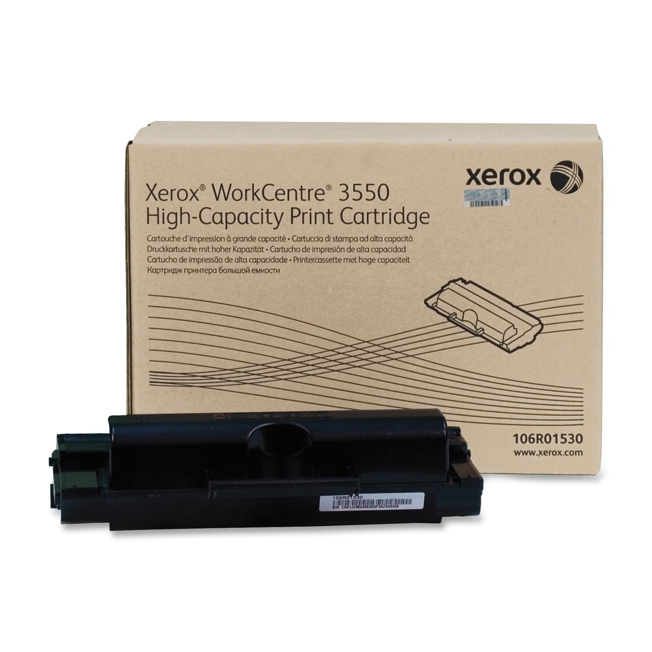 106R01530 High-Capacity Toner, 11,000 Page-Yield, Black, Sold as 2 Each by Xerox B01APXG0BO 2 Pack  2 Pack